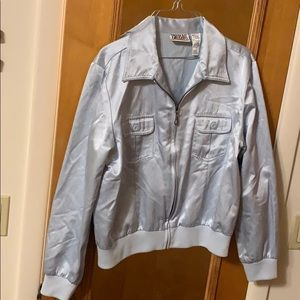 Light blue Bill Blass jacket.